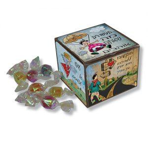 סוכריות יהלום בקופסה מעוצבת דגם העצמה