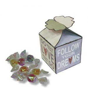 מארז פרפר עם סוכריות