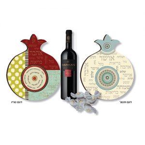 תחתית לסיר יין ופרלינים