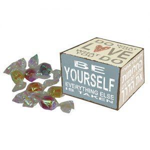 סוכריות יהלום בקופסה מעוצבת, דגם וינטג'