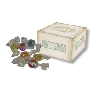 סוכריות יהלום בקופסה מעוצבת, דגם ציפורים