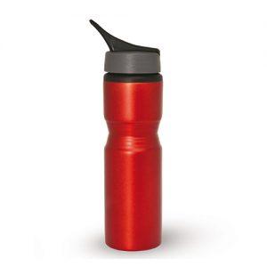 בקבוק אלומניום עם פיה נשלפת