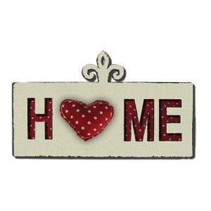 מתלה HOME עם כרית לב