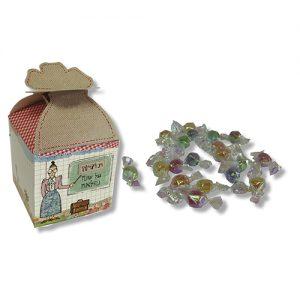 קופסת פרפר עם סוכריות