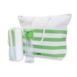 ארכדיה ערכת קיץ תיק מגבת ובקבוק